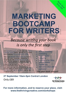 Writers Bootcamp Poster2