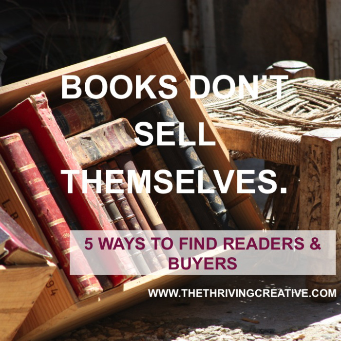 Books Don't Sell Themselves. Blog Post
