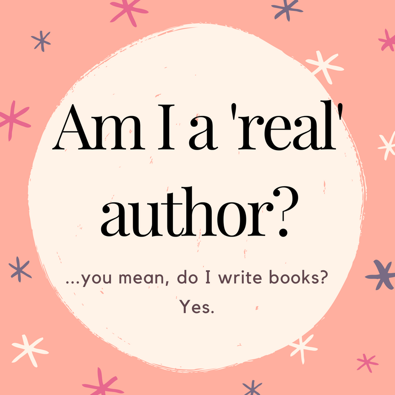 Am I a 'real' author_