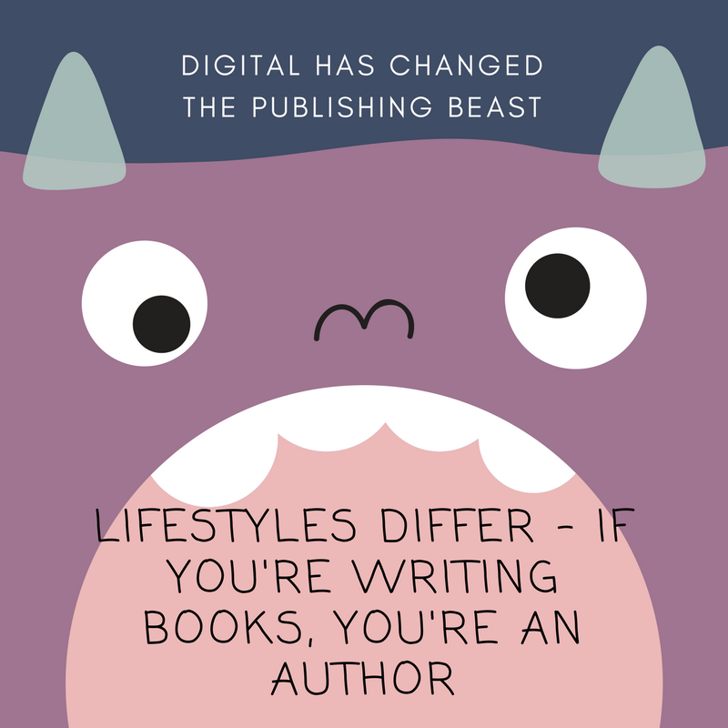 Digital has changed what it means to be an author